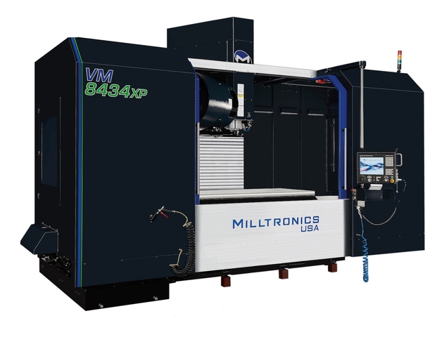 Milltronics' new VMC, the VM8434XP