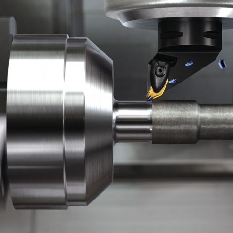 Machinists have long been told that turning forces should be directed towards the chuck. Sandvik Coromant's Prime turning breaks that rule. Image: Sandvik Coromant
