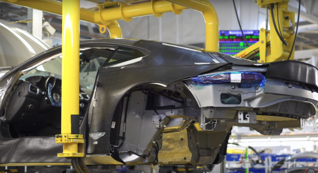 Manufacturing the Aston Martin