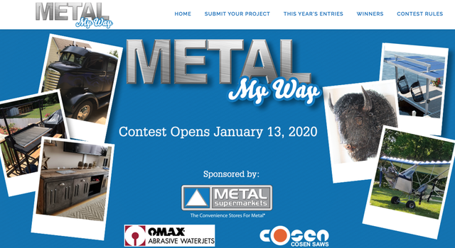 Metal My Way contents opens January 13, 2020