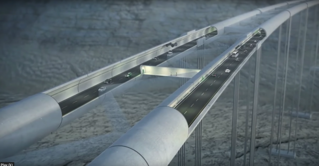 Norway's $47 B plan for a coastal highway with undersea tunnels