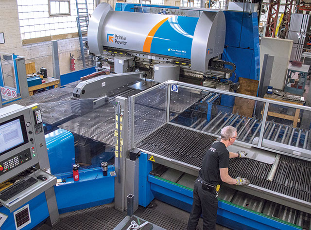 The Prima Power Shear Brilliance, left, and the BCe bending centre have helped Montel improve metal fabricating efficiencies and have allowed the company to expand into new markets.