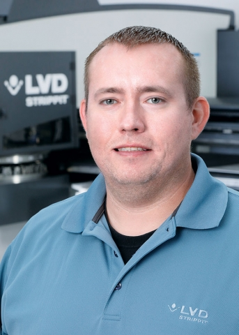 Thomas S. Weir is punching product application specialist for LVD Strippt.