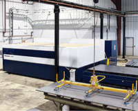 Like the bending equipment, the TRUMPF TruLaser 3040 has resolved bottleneck issues.