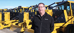 David Hodder, machine shop supervisor at Tigercat.