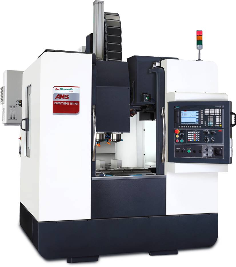 Gemini Series Machine now offered by Ace Micromatic. PHOTO: Toyoda