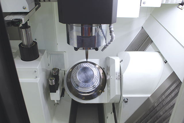 Despite its name, Kitamura's Medcenter5AX excels at far more than medical work, and is suitable for applications including aerospace and defense, mouldmaking, hard milling, watch production, and more.Kitamura Machinery