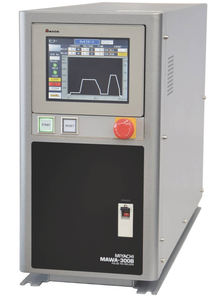 The MAWA 300B from Amada Weldtech is perfect for welding dissimilar materials and conductive metals.