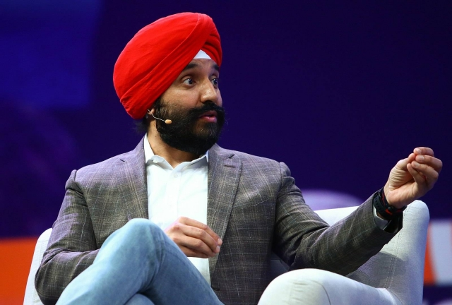 Minister of Innovation, Science and Industry Navdeep Bains