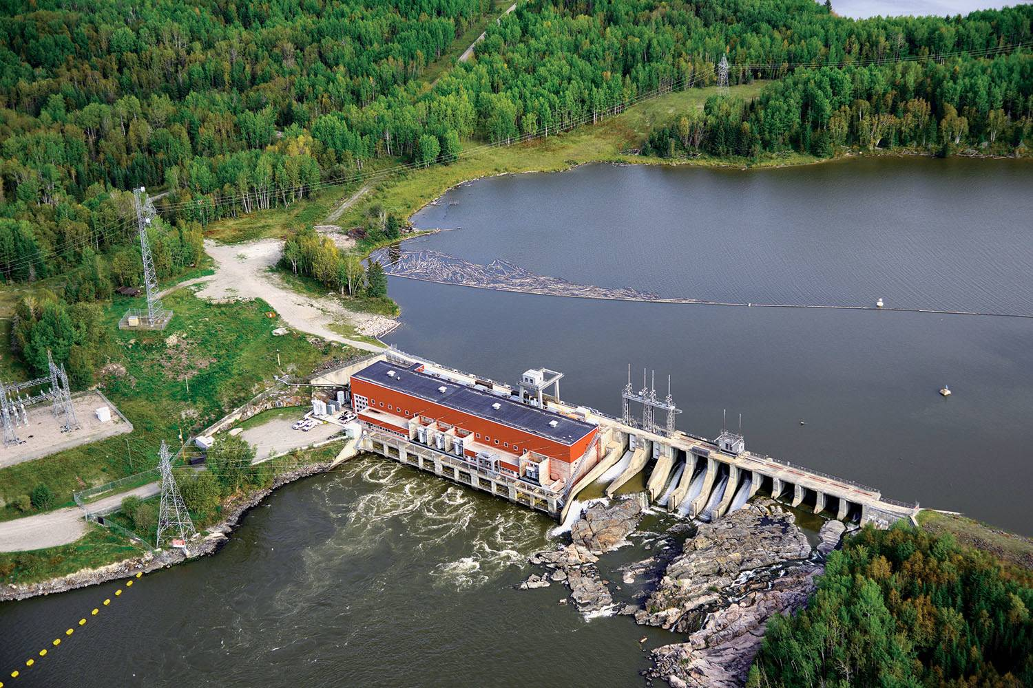 OPG's Manitou Generating Station Sluice Gates Project. PHOTO: Ontario Power Generation Inc.