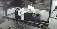 Robotic bending cell