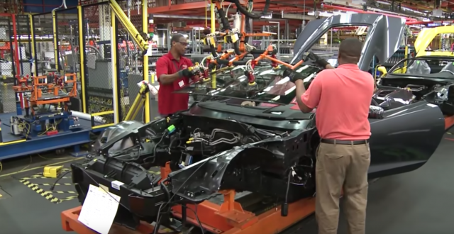 Manufacturing the Chevrolet Corvette Stingray