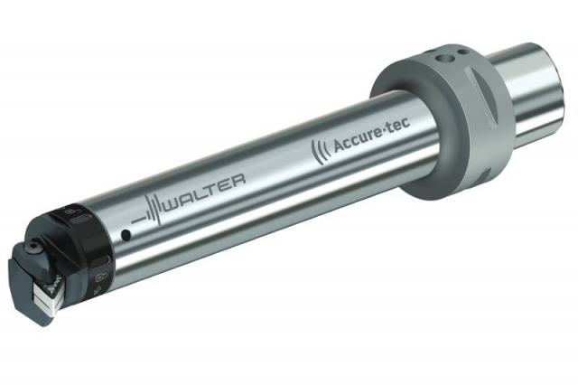 The new Accure∙tec A3000 anti-vibration boring bar from Walter