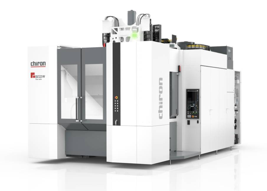 Chiron 's Series 22 combines high-speed and high-precision processing