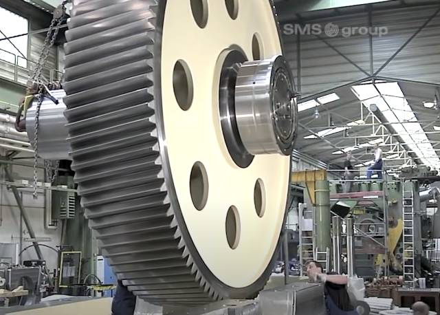 high precision gear cutting youtube