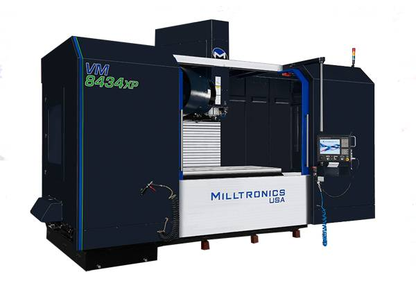 Miltronics VM8434XP vertical machining centre
