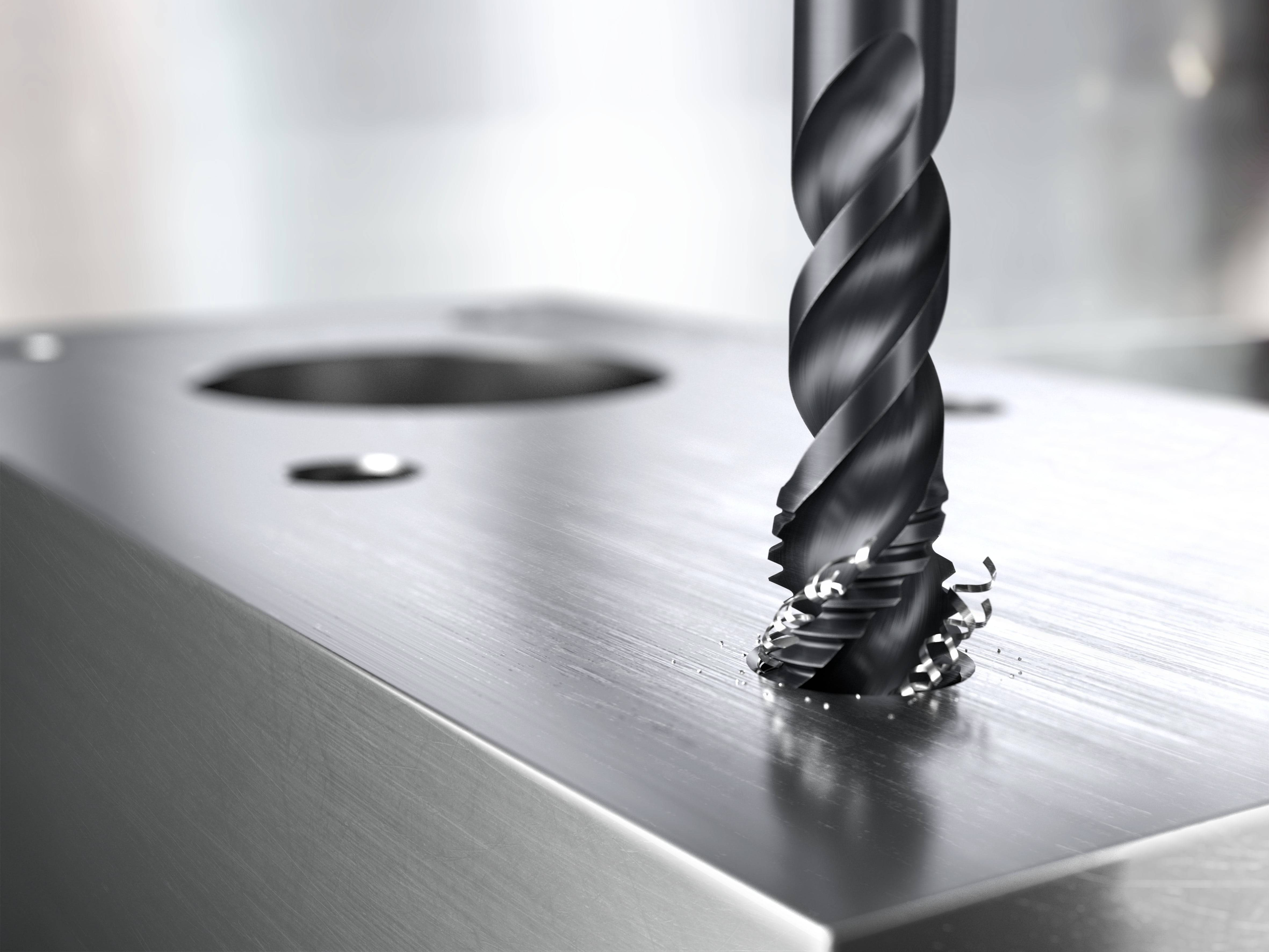Sandvik's CoroTap delivers material-specific solutions for threading a variety of metals