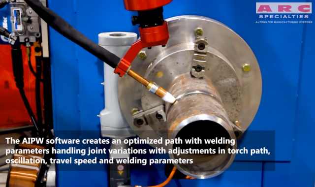 The Artificial Intelligence Pipe Welding System