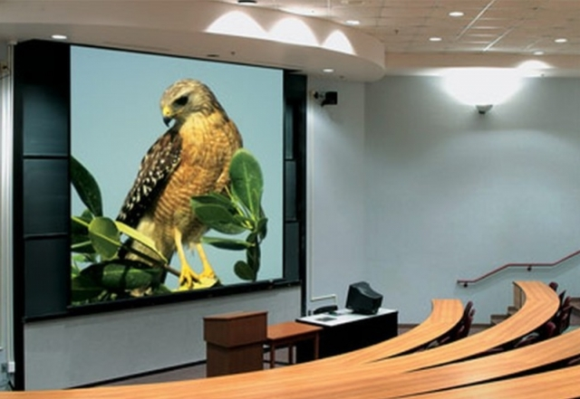 CCTN manufactures display products such as projection screens