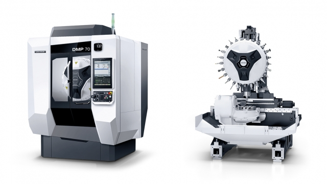 The new DMP 70 high speed vertical machining centre