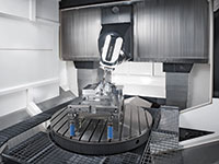DMG MORI's portal series can be equipped with mill-turn, grinding or power skiving capabilities. DMG Mori