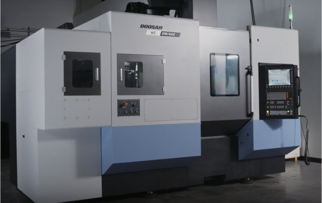 Doosan five-axis machining