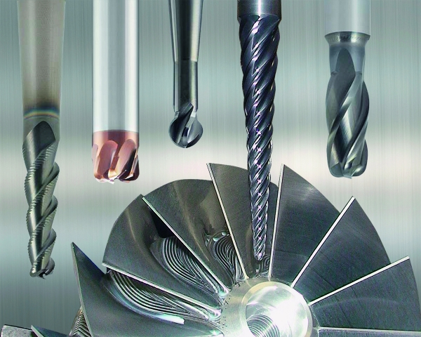 Emuge's new Turbine End Mills