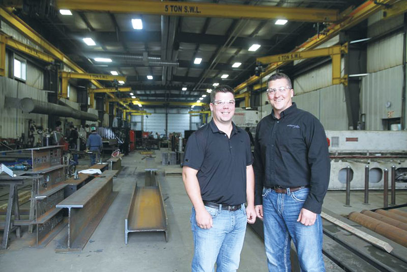 Jeff Nordquist, left, with partner Steve Silvermagle, who run the shop along with two private shareholders.  Image: World Spectator