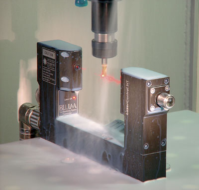 Blum-Novotest's Jamie King says tooling such as the company's laser measuring system that measures and checks tooling before it touches a part, helps improve quality management processes.