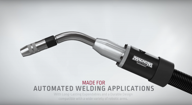 Lincoln robotic welding torch