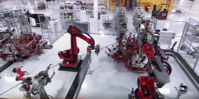 Manufacturing the Tesla