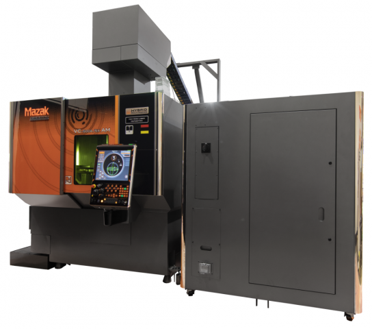 Mazak VC-500A/5X AM HWD HYBRID Multi-Tasking Machine