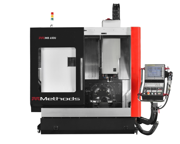 The Methods MB 650U five axis bridge type VMC