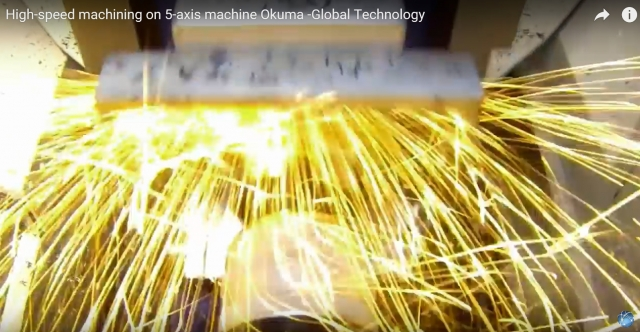 Okuma high speed machining