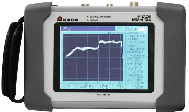 MM-410A handheld resistance weld checker