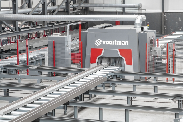 Voortman's new V807 Robotic Thermal Profile Processor