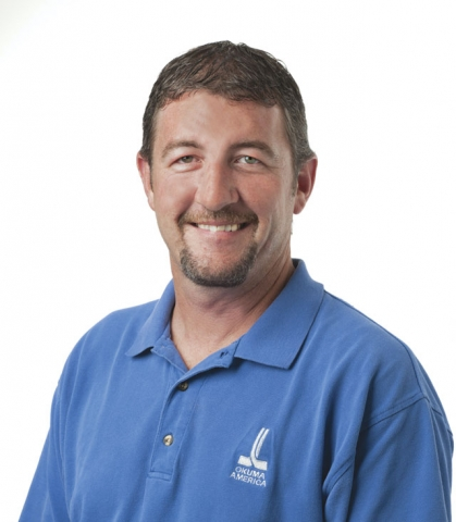 Rob Titus is the Okuma product grinder specialist.
