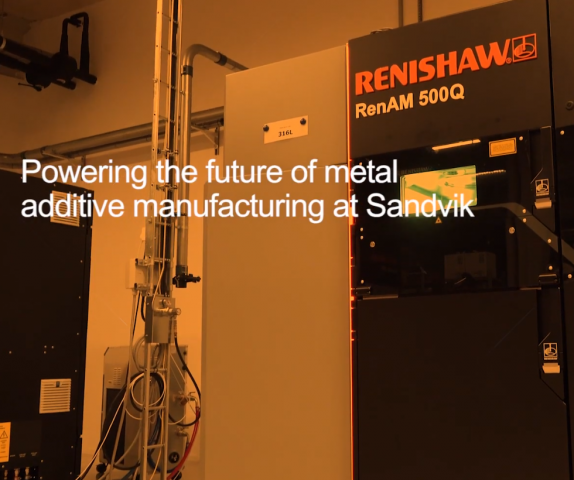 Sandvik acquires Renishaw AM systems