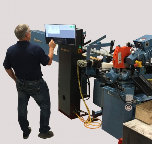 Scotchman's CPO 350 Auto Loader fully automatic sawing system