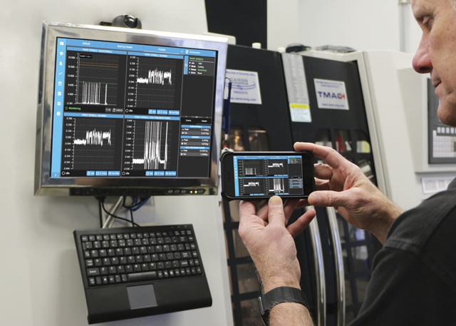 Blum-Novotest's Tool Monitoring Adaptive Control TMAC 3.0 monitors tool wear and breakage and sends a notification or stops the machine if necessary.IMAGE: Blum-Novotest