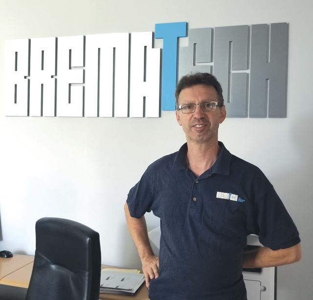 Silvano Bressan, owner of Brematech, believes in investing in technology to grow his business. This year alone, he's purchased four machine tools and upgraded the quality department.