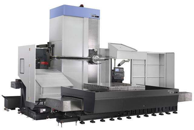 Doosan's DBC 160 is a multi-purpose, high speed and high precision horizontal boring mill.