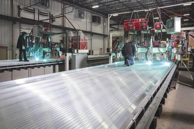 Since aluminum is a soft and active wire, there can be some challenges when trying to feed from a bulk system. The wire may tangle, creating a feeding issue and leaving a shop with costly downtime.