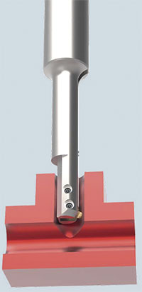 Heule's Cofa-X tool for automated cross hole deburring.