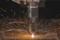 Automating the plasma cutting process helps improve efficiencies IMAGE: Hypertherm
