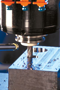 Success with HEM requires the right combination of cutting tool, toolpath, and CNC equipment. Image:  IMCO