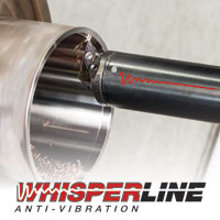 WhisperLine anti-vibration tools enable the delivery of internal coolant to be supplied directly to where it is required—the insert's cutting edge. Image: Iscar Tools