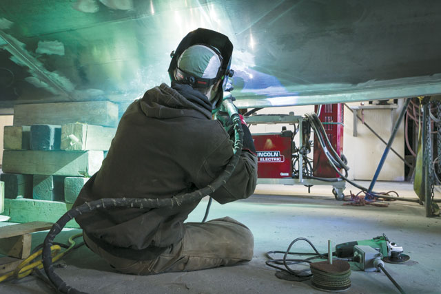 Achieving success welding aluminum means understanding that the alloy is distinctly different from welding steels and other materials, says Mikael Carriere, manager of technical services at Lincoln Electric. IMAGE: Lincoln Electric