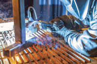 Miller Electric's Jerome Parker says welders need to understand the material being welded and the amperage required for a successful weld. 	 IMAGE: Miller Electric