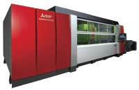 Fiber lasers have taken a lot of guesswork out of the metal fabricating process, says Hank White of Mitsubishi Lasers/MC Machinery. IMAGE: MC MACHINERY